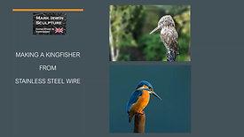 Making a kingfisher