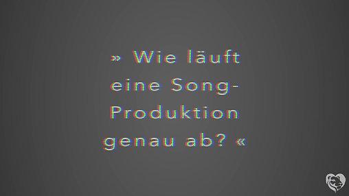Was passiert eigentlich alles mit einer Liedidee, wenn man sie in die Hände eines Produzenten gibt?