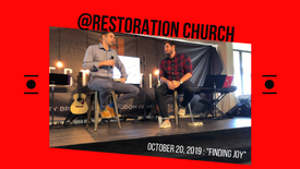 """Finding Joy"" at Restoration Church"