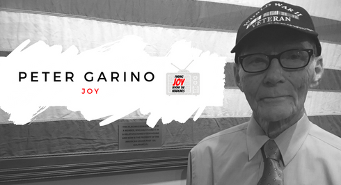 JOY: Peter Garino