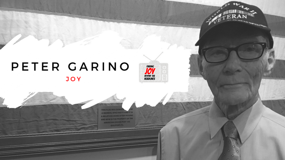 JOY: Peter Garino