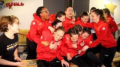 """INTERSPORT Tournon soutient le sport féminin. Les """"tigers"""", équipe féminine de l Ahb St Vallier"""