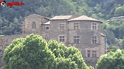 le château Musée de Tournon où le roi François 1er a perdu son fils