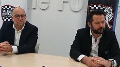 Date de reprise, maintien en ProD2 ?  Conférence de presse avec Laurent Beaugiraud et Jean-Pierre Cheval.