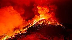 Deux volcans nommés Tazieff