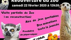 l'équipe du zoo et les bénévoles vous attendent dès samedi pour LA 𝗥𝗘𝗢𝗨𝗩𝗘𝗥𝗧𝗨𝗥𝗘 !