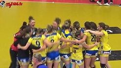 """Victoire de Bourg de Péage Drôme Handball 25 à 24 face à ESBF Handball """"tout le monde était prêt à renverser des montagnes"""" #camillecomte"""
