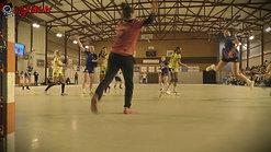 Les sinistrés du TEIL soutenus par les filles du Bourg de Péage Drôme Handball lors d'un match de solidarité !