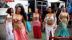 la compagnie de danse Grenobloise sherhazade à la foire du Dauphiné