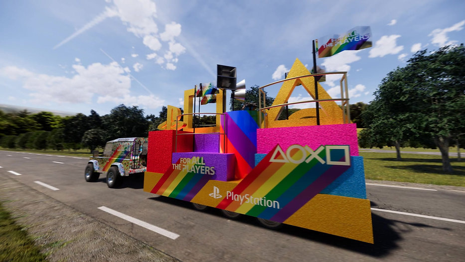 PLAYSTATION/PRIDE FLOAT 2018