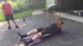 Medicine Ball Sit Up Throw