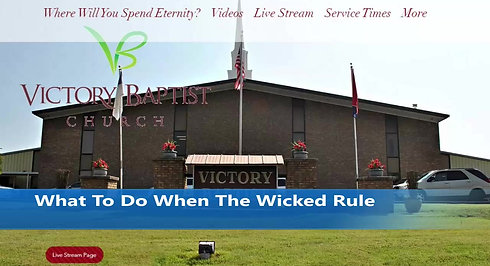 What To Do When The Wicked Rule