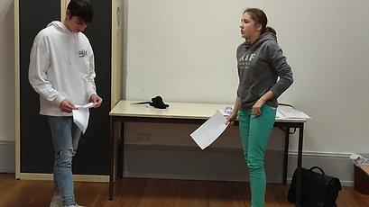 Extrait stage Théâtre A2
