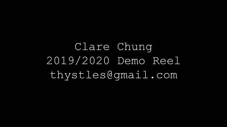 DEMO REEL 2019/2020