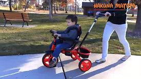 Трехколесный велосипед 4 в 1 Щенячий патруль