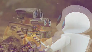 Wall-e and Eve - Love