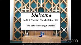 Sunday Morning Service Jan 31, 2021