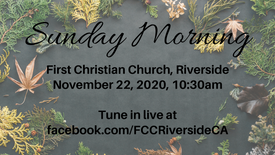 November 22nd Sunday Morning Worship