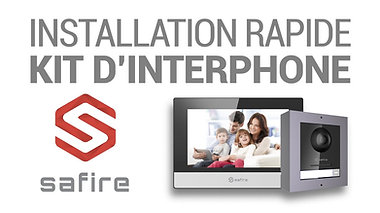 Kit Interphone Safire IP
