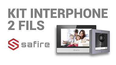 Kit Interphone Safire 2 Fils