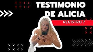 7 · Testimonio de Alicia