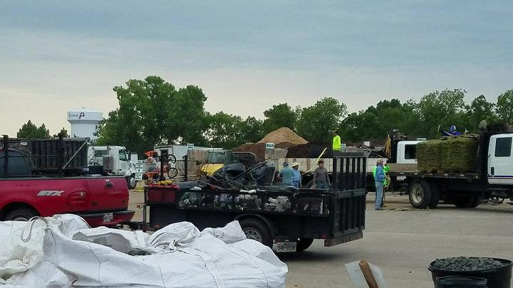servall loading area morning