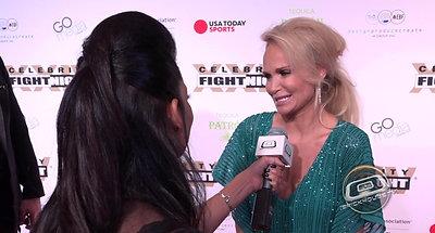 Celebrity Fight Night  2018 Red Carpet