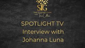 Spotlight TV Interview with Johanna Luna