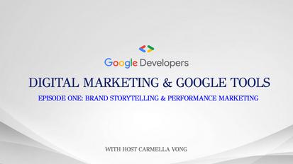 Digital Marketing & Google Tools: S1/E1