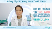 how to take good care of your teeth.