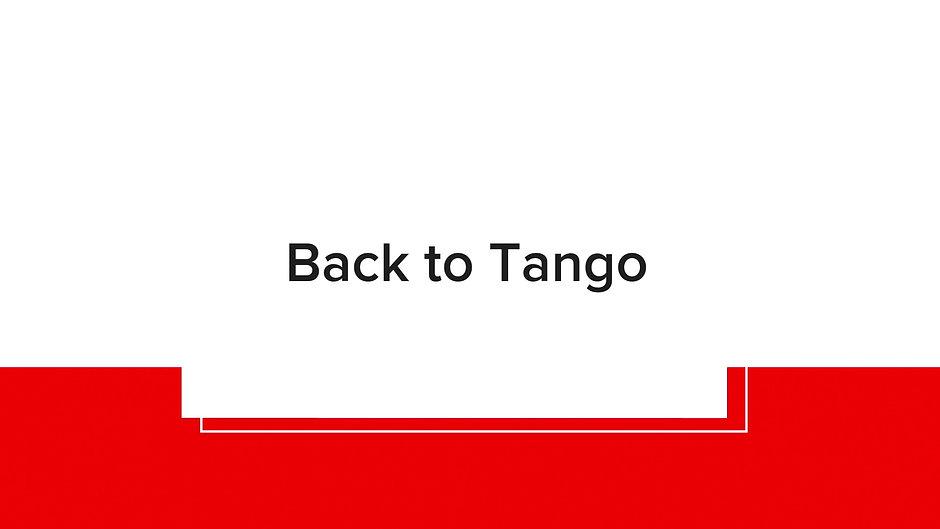 BACK TO TANGO INTERMEDIATES