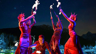 Spectacular Act: The Magic of Fire
