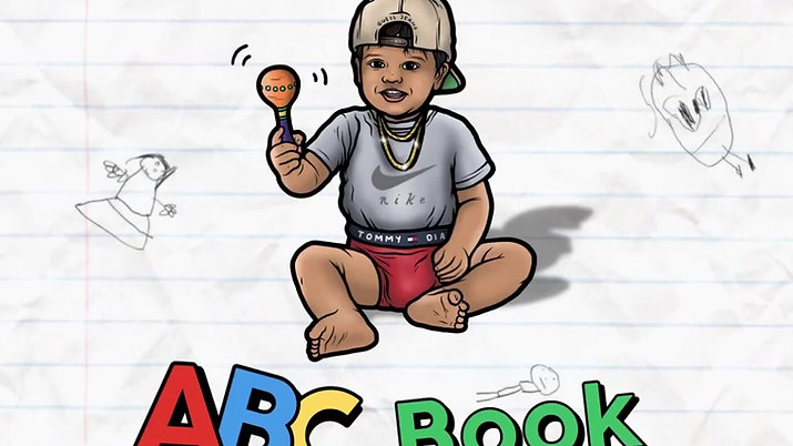 THE 90s BABY ABC BOOK