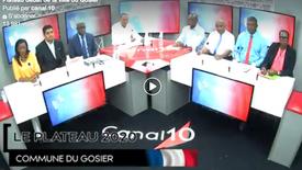 11.03.2020 Canal 10#Extrait Plateau Débat# Gosier