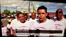 13.02.2020 Présentation  de la liste ASPG  sur le Journal Guadeloupe la 1ère