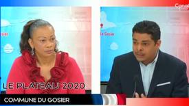 11.03.2020 Débat politique Canal 10 # Municipales 2020 Gosier # liste ASP Gosier # Cédric Cornet # Obligation de résultat # Conseil municipal bénévole