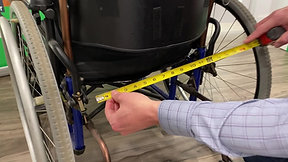 How to measure your wheelchair