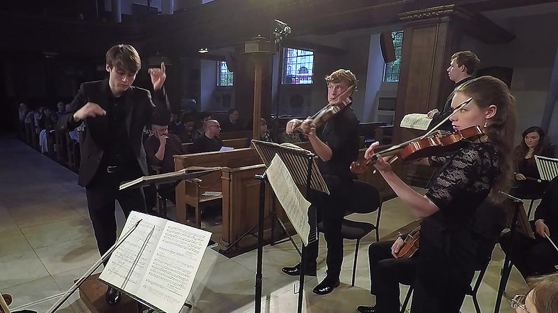 Bach, St John Passion, muted Violins