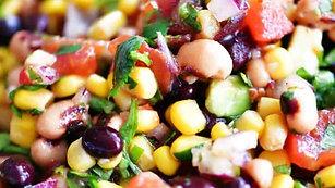 """""""Cowboy Caviar"""" Bean Salad"""