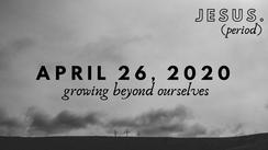 April 26, 2020