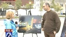 Fox2 News St Louis art fair interview