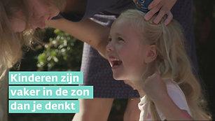KWF Kinderen zijn vaker in de zon dan je denkt!