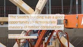 Documentary Omega building for Blumer-Lehmann AG