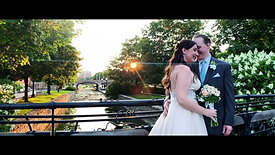 Dave & Sarah's Wedding Trailer