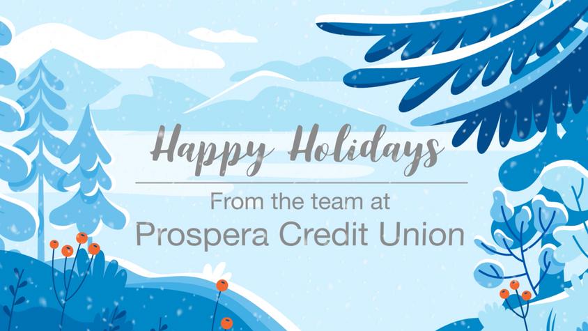Prospera Credit Union - Holiday Card