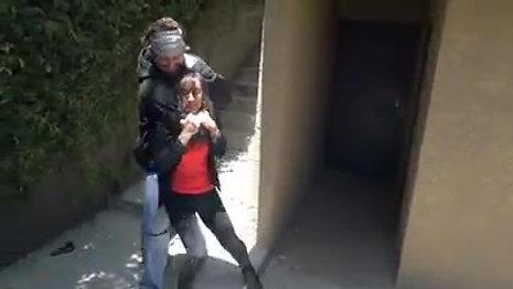 Stunt/COP Fight Scene