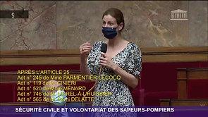 Amendement - Consolider notre modèle de sécurité civile et valoriser le volontariat des sapeurs-pompiers - 27/05/21