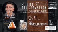 Ridge Preservation