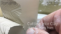 Cutting into Clay