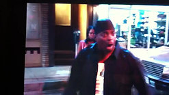 In A Movie scene with Kevin Hart doing a spoof of Denzel Marcel Washington lol